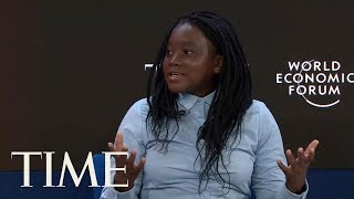 Zambian Women & Girls' Right Activist Natasha Mwansa Joins Youth Activists On Panel At Davos | TIME