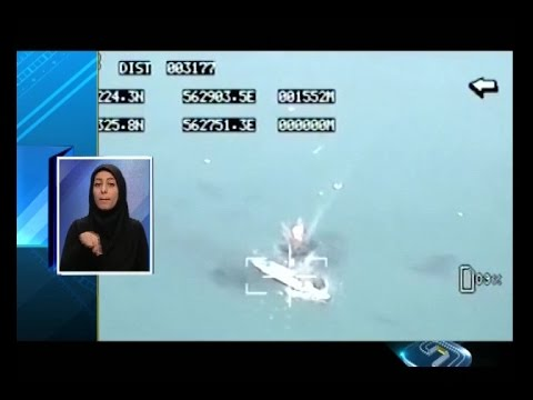 Iran Persian Gulf missile hit target ship during 9th Great Prophet wargame