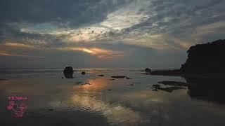 西海岸の長ーい沖永良部島で、さすがの夕景三昧