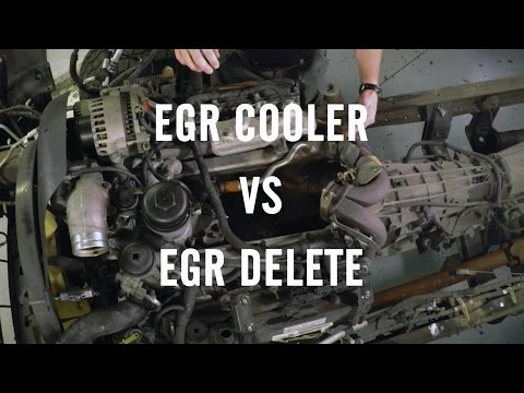 EGR Delete or EGR Cooler? - YouTube