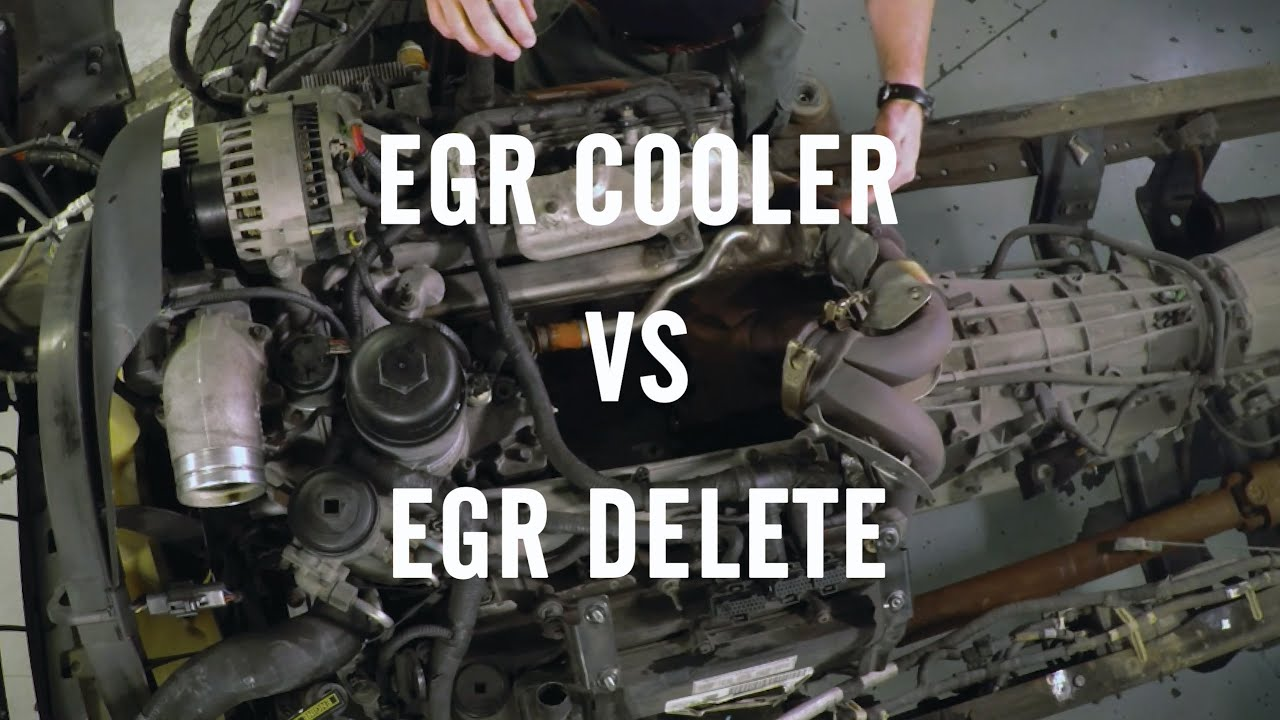 Egr Delete Or Egr Cooler Youtube
