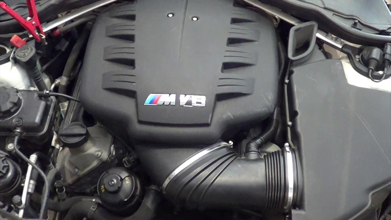 2012 E92 BMW M3 V8 S65 Engine Test