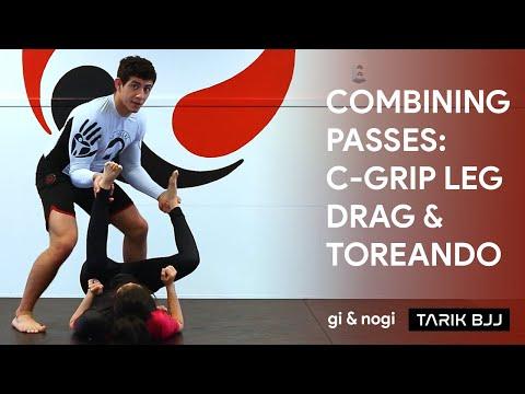 Week 25 - Intermediate - Combining passes - C-grip leg drag and toreando variations