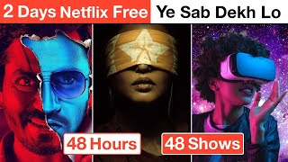 Best NETFLIX Web Series & Movies Of All Time In Hindi | Deeksha Sharma
