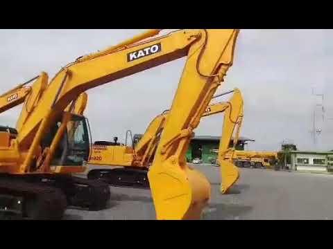 กลับมาภาคใหม่ NEW KATO HD820 EXCAVATOR =6D31T =133 HP EP.5169