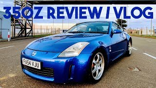 FIRST TIME DRIVING A NISSAN 350Z