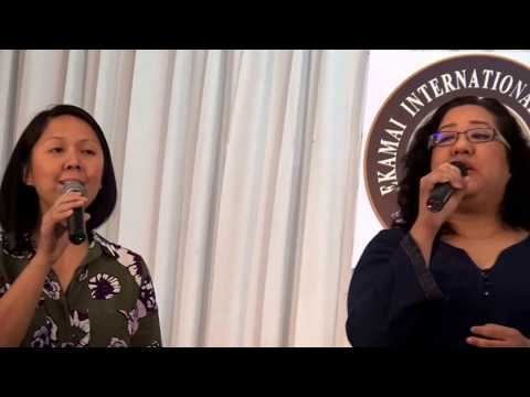 NOT THE I BUT YOU IN ME - Anointed (cover by Alumni of EIS and BAIS)