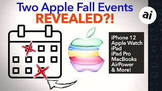 iPhone 12, iPad Pro, Apple Glass & Other Launch Events LEAKED!
