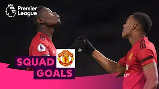 Magical Manchester United Goals | Pogba, Rooney, Ronaldo | Squad Goals