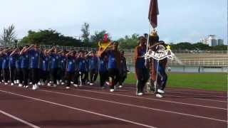 Riam Road Secondary School Sports Day 2013 - March Past