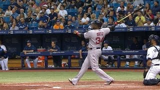 BOS@TB: Red Sox clobber five home runs vs. the Rays