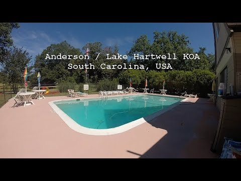 Anderson / Lake Hartwell KOA Campground Tour | 2017 | South Carolina | USA