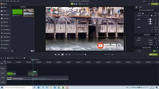 subscribe button green screen in camtasia