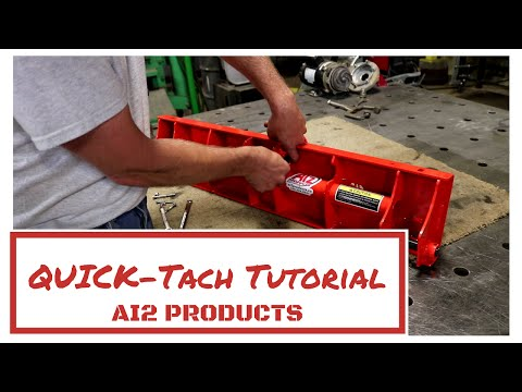 Ai2 Products Kubota BX Quick-Tach tutorial