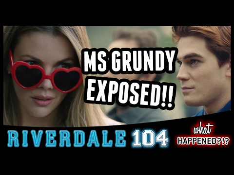 """8 Biggest Reveals RIVERDALE Episode 4: """"The Last Picture Show"""" - Grundy, Jughead 