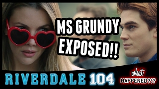 "8 Biggest Reveals RIVERDALE Episode 4: ""The Last Picture Show"" - Grundy, Jughead 