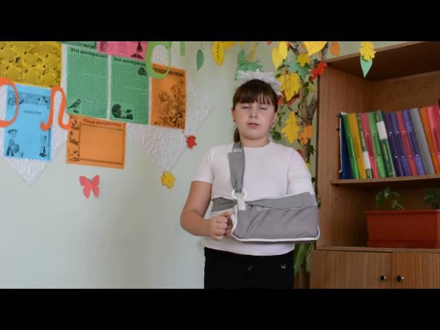 Карина Ефремова читает произведение «Листопад» (Бунин Иван Алексеевич)
