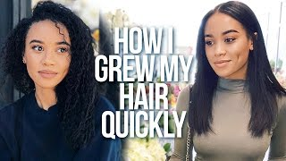 3 Things That Helped Grow My Hair Fast 🙌🏽