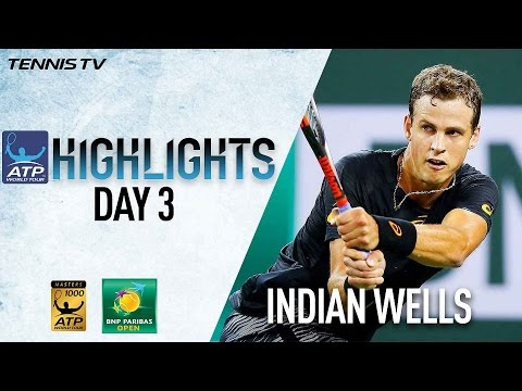 Pospisil Stuns Murray In Indian Wells 2017 Saturday Highlights
