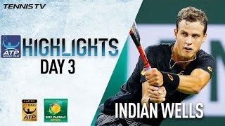 Highlights: Pospisil Stuns Murray In Indian Wells 2017 Saturday