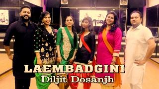 Laembadgini Bhangra Steps | Diljit Dosanjh | Dance Choreography