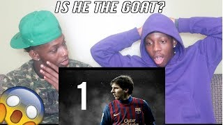 NON Soccer Fan Reacts To Lionel Messi The 10 GREATEST Goals Ever