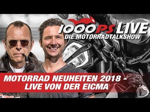 Motorrad Neuheiten 2018 - Live von der EICMA