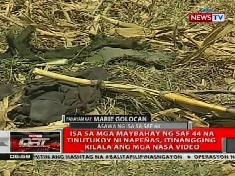 QRT: Panayam kay Marie Golocan asawa ng isa sa SAF 44