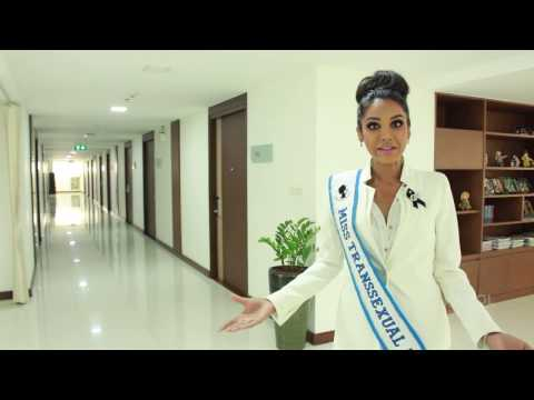 Laeticia Raveena, Miss Transsexual Australia 2017 visit to Kamol Cosmetic Hospital.