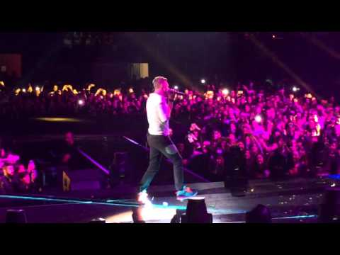 Coldplay live @ Xfactor Italia - Adventure of a lifetime