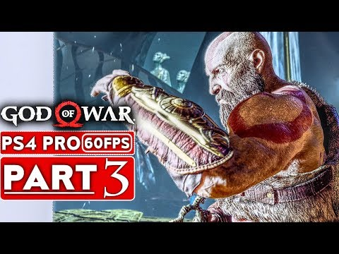 GOD OF WAR 4 Gameplay Walkthrough Part 3 [1080p HD 60FPS PS4 PRO] - No Commentary