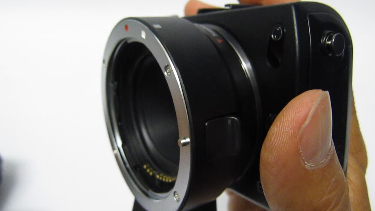 Fotodiox EF to EOS M Lens Adapter Review and Test Footage - Самые