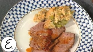 Passover Creole Farfel Kugel  - Emeril Lagasse