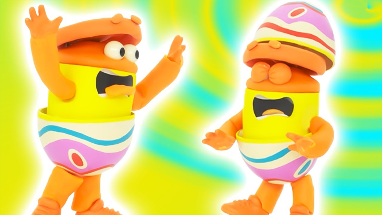 Пасхальные яйца с сюрпризом ? Шоу Play-Doh Сезон 2   странице Play-Doh