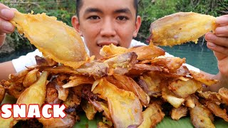 Làm Bánh SNACK Từ Bông Sen Giòn Rụm | ĐỒ ĂN VẶT