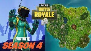 Fortnite Battle Royale Season 4 Week 5 Challenges Leaked Online