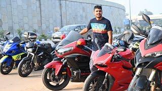 ലക്ഷങ്ങൾ വിലയുള്ള സൂപ്പർ ബൈക്കുകൾ😁/ Sunday Morning Ride With Superbikes
