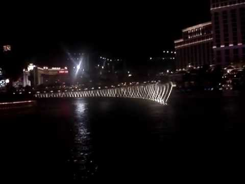 Waterfront show at the Bellagio Hotel in Vegas-part 1