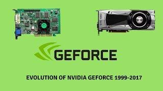 Evolution of NVIDIA GeForce 1999-2017