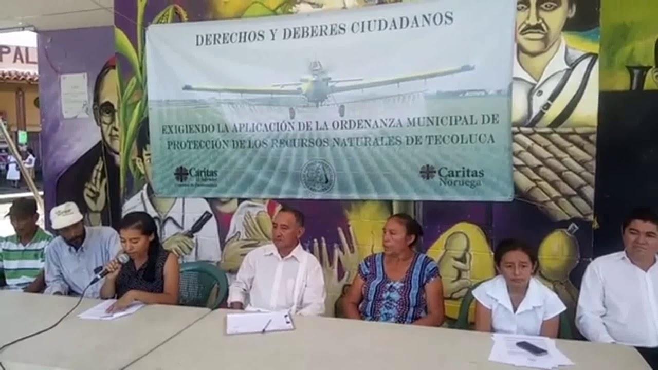 Comunidades piden leyes que promuevan agricultura que armonice con el ambiente.