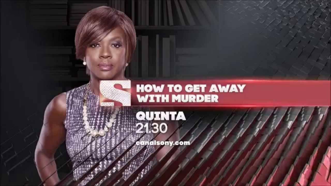 How To Get Away With Murder  Chamada  Canal Sony