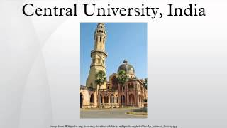 Central University, India