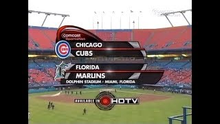 122 - Cubs at Marlins - Friday, August 15, 2008 - 6:10pm CDT - CSN Chicago