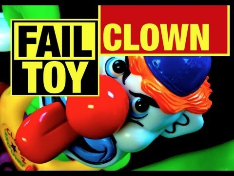 Epic Fail Toy? Evil Clown Around Game Fail Toy Review by Mike Mozart of TheToyChannel