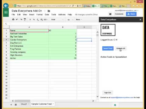Connect your Google Sheets to any database, anywhere