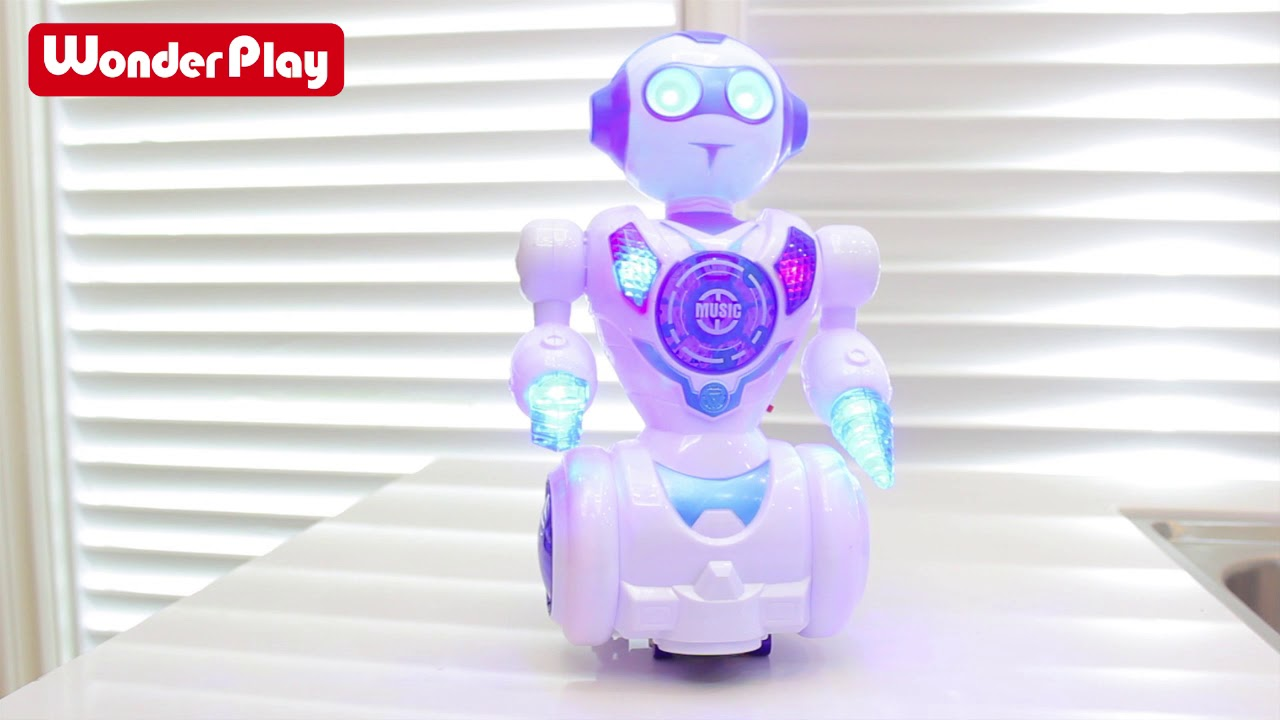 Download X-hong WonderPlay B/O Dancing Robot With Light & Music
