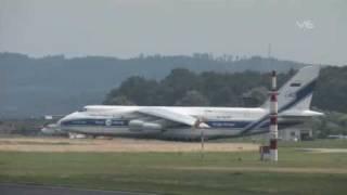 Antonov AN 124 EDNY, Friedrichshafen - inkl ATC Radio
