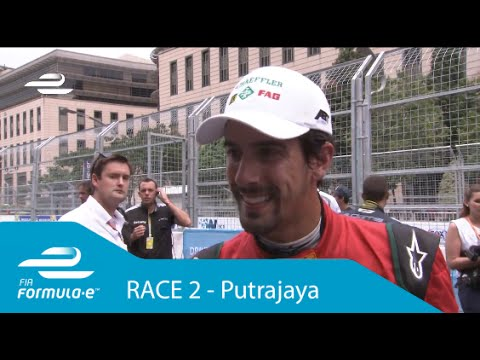 Lucas di Grassi Putrajaya ePrix post-race interview