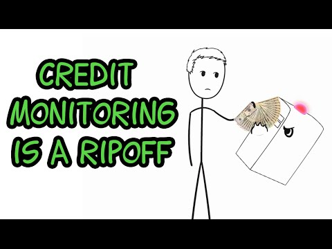 Credit Report Monitoring is a Ripoff