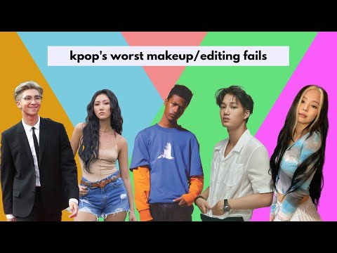 Ranking the worst cases of WHITEWASHING in Kpop because why not ? by LOONA